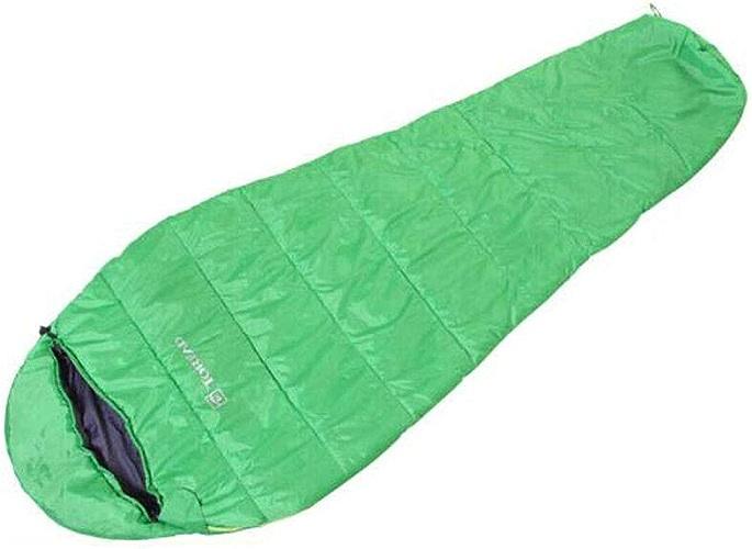 8haowenju Sac de Couchage de Style Momie pour Adultes, Camping, Voyage, Bleu, Vert, Rouge. Taille  78  31,4 (Pouces)