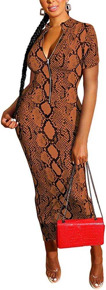 Xuan2Xuan3 Women's Dresses Fall Long Snake Bombing free shipping Printed Cheap Sleeve Zipper