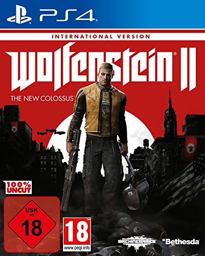 Wolfenstein II: The New Colossus (International Version) - PlayStation 4 [ [Importación alemana]