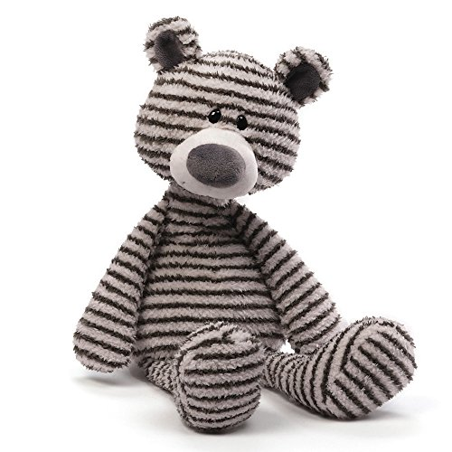 GUND Zag Teddy Bear Stuffed Animal Plush, 13'