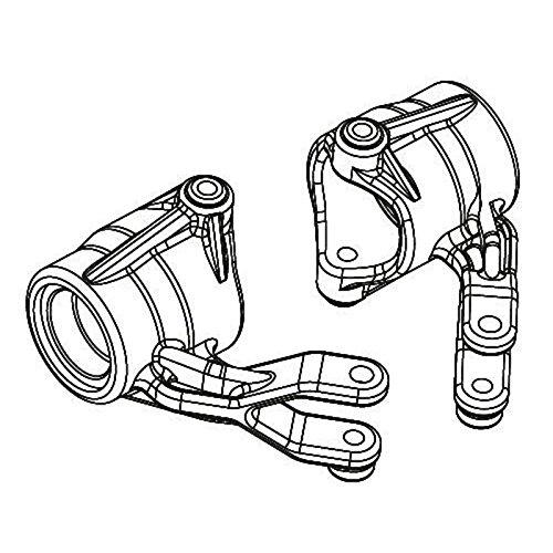 Carson 500405261 - Modellbauzubehör: FY10 Lenkhebel, vorne Links und rechts, 2 Stück