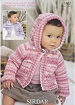 Jackets in Sirdar Snuggly Baby Crofter DK (1962) Knitting Pattern