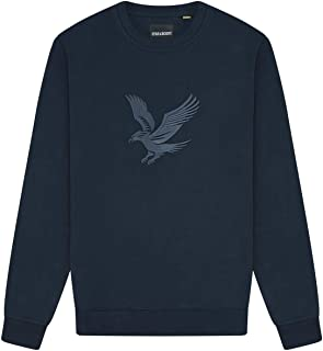 Lyle and Scott Embroidered Eagle Sweatshirt - Cotton