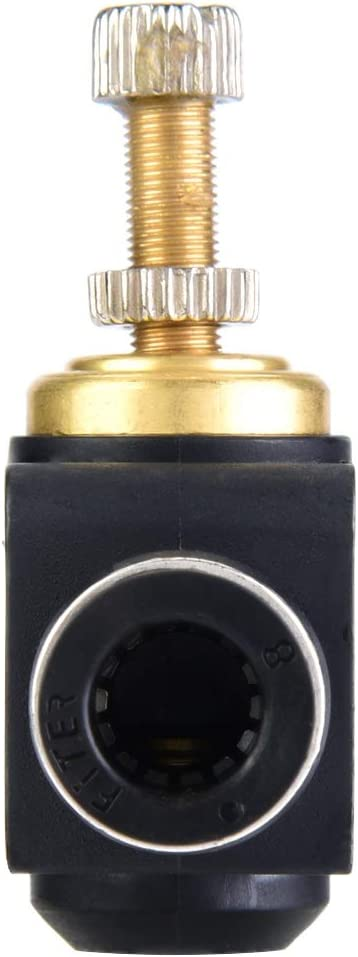 6mm 8mm Regolatore di Flusso Daria per T bo Valvola a T Pneumatica Valvola di Regolazione Pneumatica per Raccordi di Collegamento 4//6