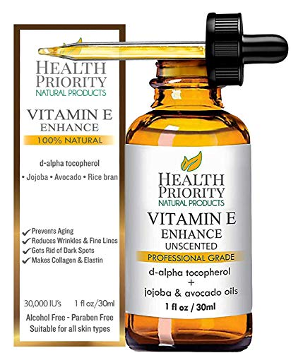 Organic Vitamin E Oil - Small Batch, Hand Made in South Carolina Using Sunflower Oil. Nourish Your...