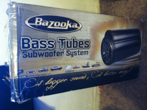 Bazooka BTA10250D BT Series 10-Inch 250-Watt Class D Amplified Tube