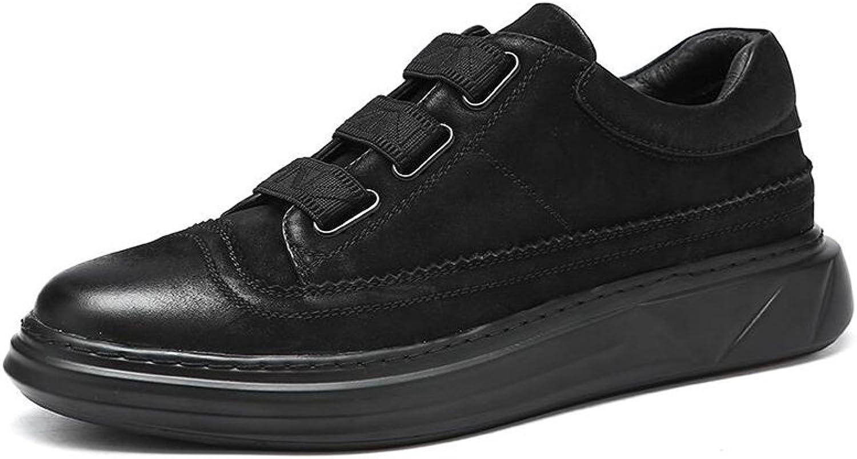 CJC skor män Holiday Smart Casual Loafers glider på herr herr herr läder Driving skor (färg  svart, Storlek  EU43  UK9)  arenan