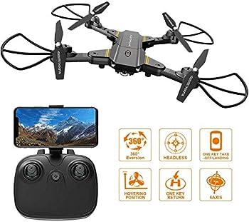 Falcorc Foldable Mini RC Drone With 720P WiFi Camera