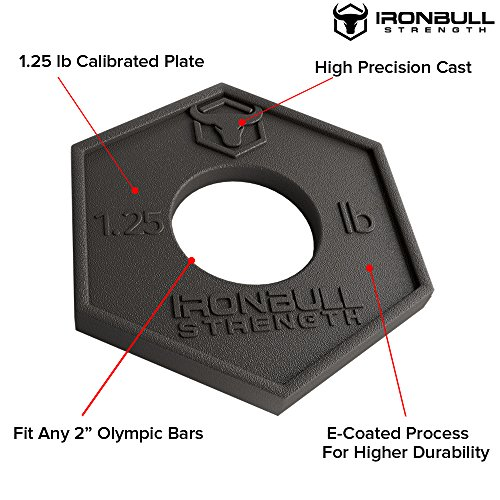 Iron Bull Strength Olympic Fractional Plates