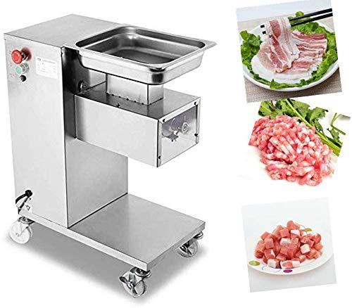 CGOLDENWALL 550W Elektrischer Fleischkutter丨Edelstahl Fleischwolf für 500kg/stunden z.b fertiges Rindfleisch&Lammfleisch Fleischschneider mit Abnehmbare Klinge von 2.5/3/5/6/7/8/10mm