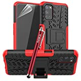 iCatchy For Oppo A72 Case, Heavy Duty Hard Tough Dual Layer