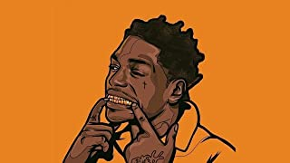 United Mart Poster Kodak Black Famous American Rapper Poster 12x18 Inch Rolled Poster