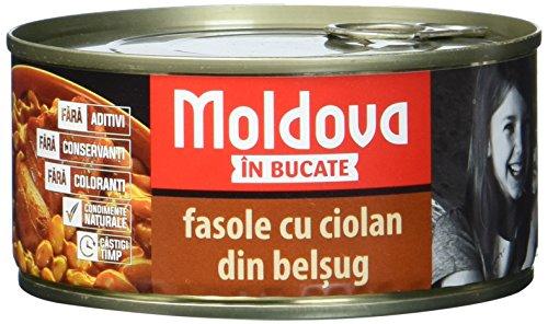 """Moldava Schweinehaxe mit Bohnen """"Ciolan de porc cu fasole"""", 5er Pack (5 x 300 g)"""