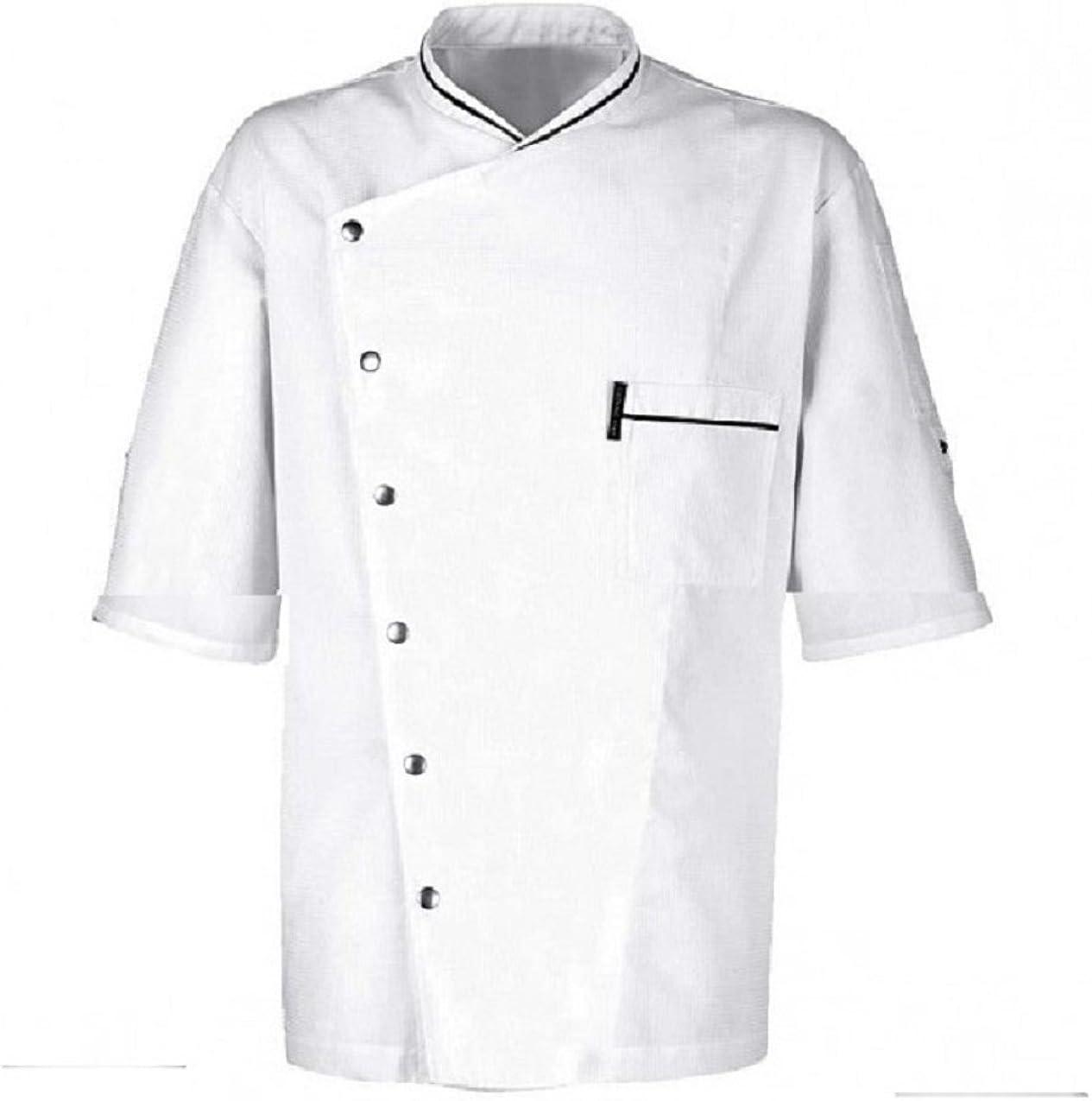 Unisex Men latest Women Chef Jacket White Black Coats Cook coll shopping Clothes