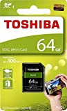Toshiba 64GB UHS-I Class 10 SDHC Memory Card (Read Speed Upto 100 MB/s) (64GB)
