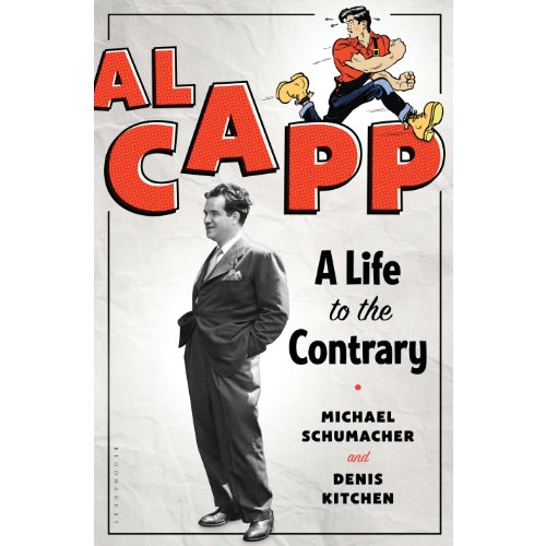 Al Capp audiobook cover art