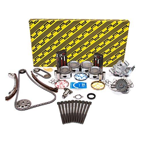 Evergreen OK2040M/0/0/0 Fits 02-06 Toyota RAV4 Highlander Camry Solara 2.4L DOHC 2AZFE Master Overhaul Engine Rebuild Kit