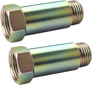 DEWHEL Defouler O2 Oxygen Sensor Fitting Bung M18x1.5 Pack Of 2