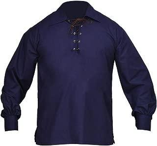 Jacobite Ghillie Shirt Navy Blue