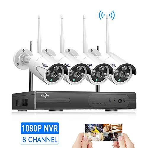 [8CH Expandable] Hiseeu 1080P Wireless Security...