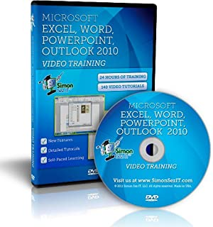 Learn Microsoft Office 2010 Training - Video Tutorials for Excel, Word, PowerPoint, and Outlook 2010 by Simon Sez IT