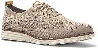 حذاء اوكسفورد بخياطة مزدوجة اصلية للرجال من كول هان, (بني), 39 EU