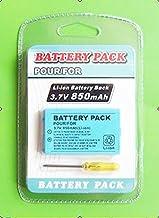 850mAh 3 7V Battery Pack for Niinteenndo Game Boy Advance SP Screwdriver 1pcs