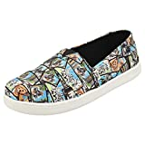 TOMS Star Wars Ewok Print Youth Canvas Slip-on Multi-Color 10014513 4