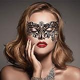 ✲ Disegni speciali e vari stili: elegante, affascinante e sexy,può soddisfare le tue varie necessità di agire e vestirsi. ✲ Facile da indossare e morbido da toccare:queste maschere di sono in nero,confortevole e leggero, è possibile regolare la tenut...