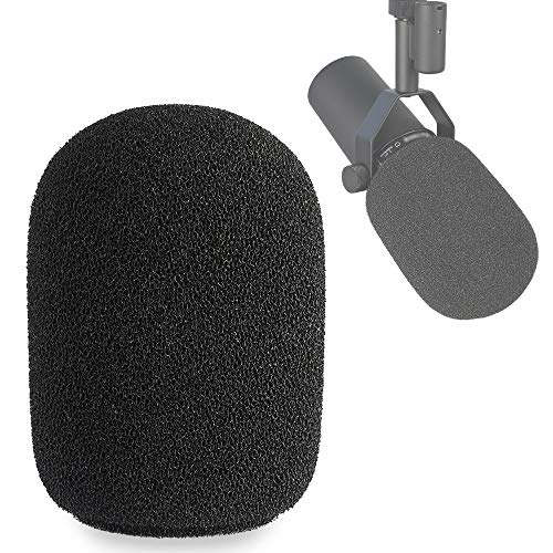 SM7B Microphone Windscreen - Pop Filter Foam Wind Cover Customized for Shure SM7B Mic to Blocks Out Plosives by YOUSHARES