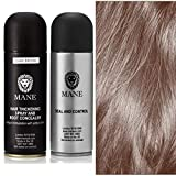 Mane Hair Thickening Spray with Seal and Control Finishing Spray Dark Brown