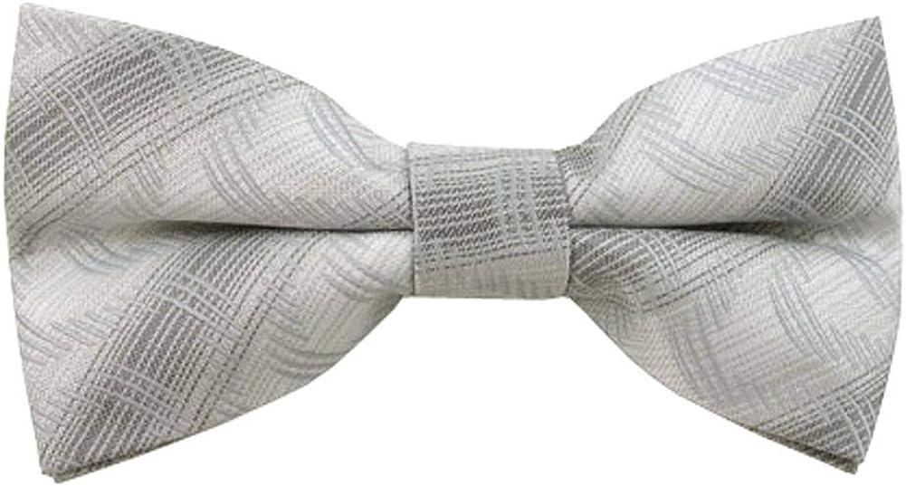 Jacob Alexander Men's Variegated Clip-On Bow Tie