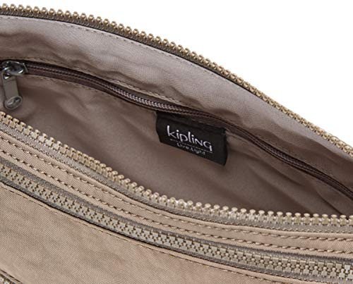 Kipling Alvar Women's Shoulder Bag, Multi-Colour, 33 x 26 x 4.5 cm Brown Size: UK One Size