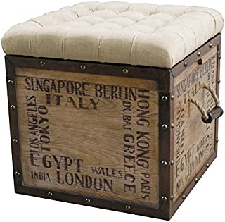 Best wooden crate storage ottoman Reviews
