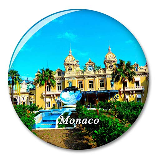 Monaco Monte Carlo Fridge Magnet Decorative Magnet Bottle Opener Tourist City Travel Souvenir Collection Gift Strong Refrigerator Sticker