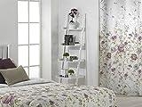 CAÑETE - Visillo con ollaos Fanny 140x270 cm - Color Lila