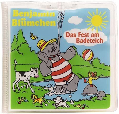 Benjamin Blümchen - Das Fest am Badeteich: Nelson Badebuch Einzeltitel
