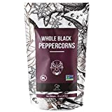 Soeos Whole Black Peppercorns 16 oz, NON-GMO Verified, Kosher,...