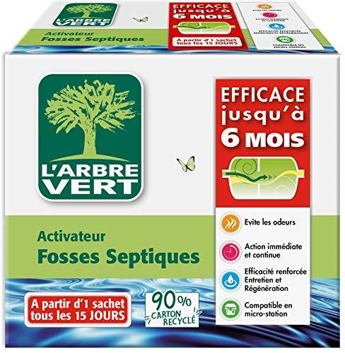 El árbol verde – Activador para fosas sépticas 420 G