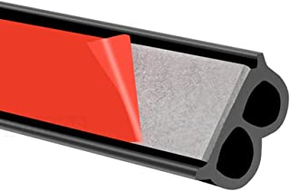 Car Door Seal Strips Sticker B Shape Weatherstrip Rubber Seals Sound Insulation Sealing Strip Automobiles Interior Accesso...
