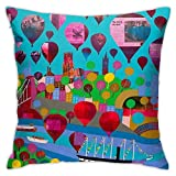 brandless Bristol Belle Bedroom Sofa Decorative Cushion Throw Pillow Cover Case 18 X 18 Inch
