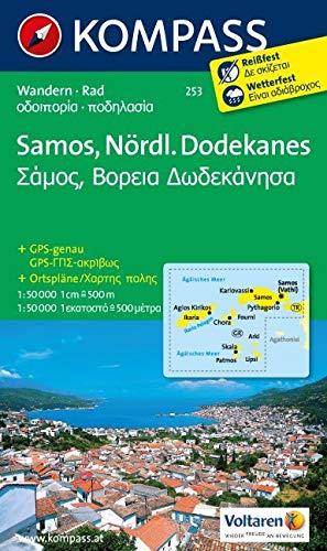 Kompass WK253 Samos, Nördlicher Dodekanes: Wandelkaart 1:50 000