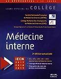 Médecine interne - Med-Line Editions - 19/09/2017