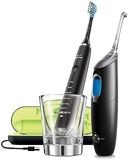 Philips Sonicare Bonus Pack HX8492/01 – DiamondClean & AirFloss Ultra Interdental Cleaner Black