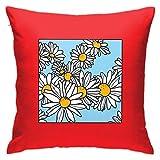 DJNGN Flowery Goodness Floor Pillow Throw Pillow Funda, Cojín de Coche, Sofá, Funda de Almohada, Decoración de Interiores (45cmx45cm)