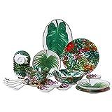 ZWJ Copas Y Platillos Set Nordic Ceramic Shareware Traje De...