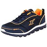 Sparx Men's Navy Orange Running Shoes - 10 UK