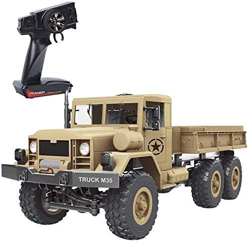Mopoq RC Auto, 4x4 Crawlers Big Truck Geländeraupen Armee Auto-Fernsteuerungs Militär-LKW-Rad-Fernbedienung...