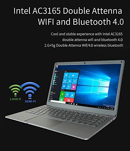 Jumper EZbook X3 Air con uno spessore di 11,5 mm perfetto per l'ufficio o in viaggio.