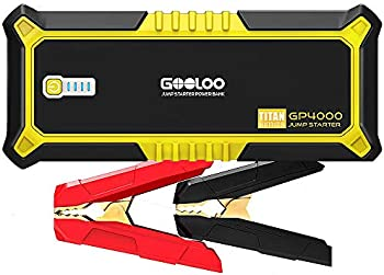 GOOLOO 4000A Peak SuperSafe Car Jump Starter